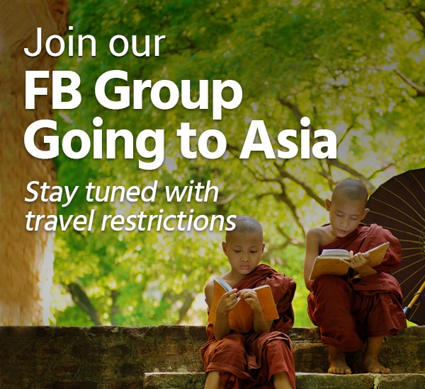Welcome to join our Facebook group of Going to Asia