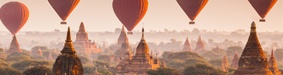 Hot-air-balloon Flight over Bagan