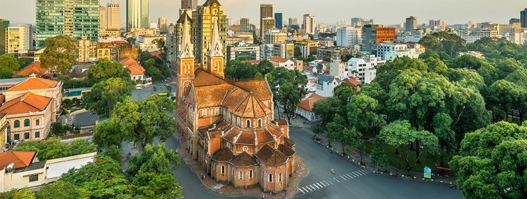City view of Ho Chi Minh City