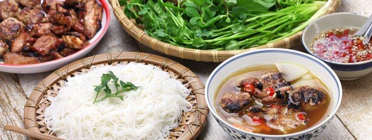 Bun Cha: Special Hanoi noodle soup