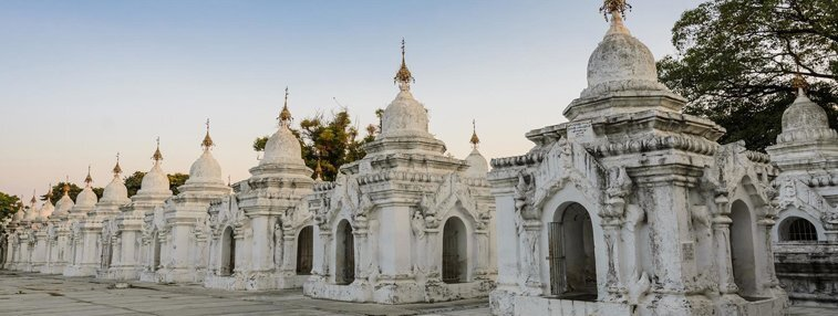 Khthodaw Pagoda in Mandalay