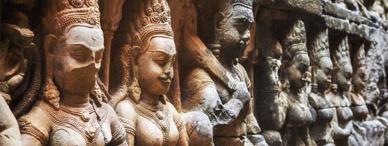 Beautiful carvings of Bantey Srei