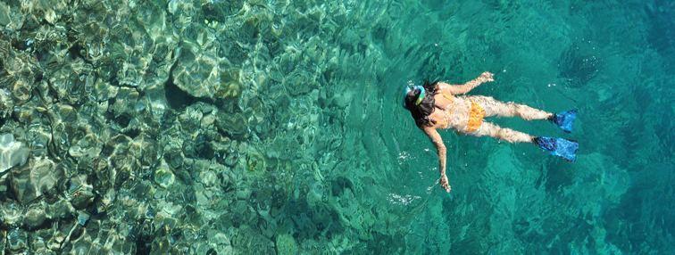 Swimming in Phuket