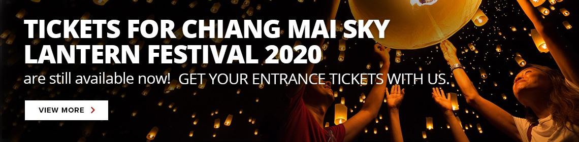 thailand chiang mai yi peng festival ticket