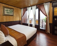 Deluxe Cabin of Jasmine Cruise on Halong Bay
