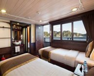 Deluxe Double Cabin of Glory Legend in Halong Bay