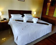 Room of Pleasant View Resort in Ngapali Beach