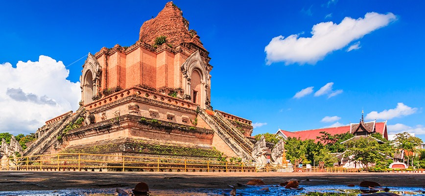 The Historic Wat Chedi Luang