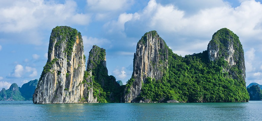 The Spectacular View of Halong Bay