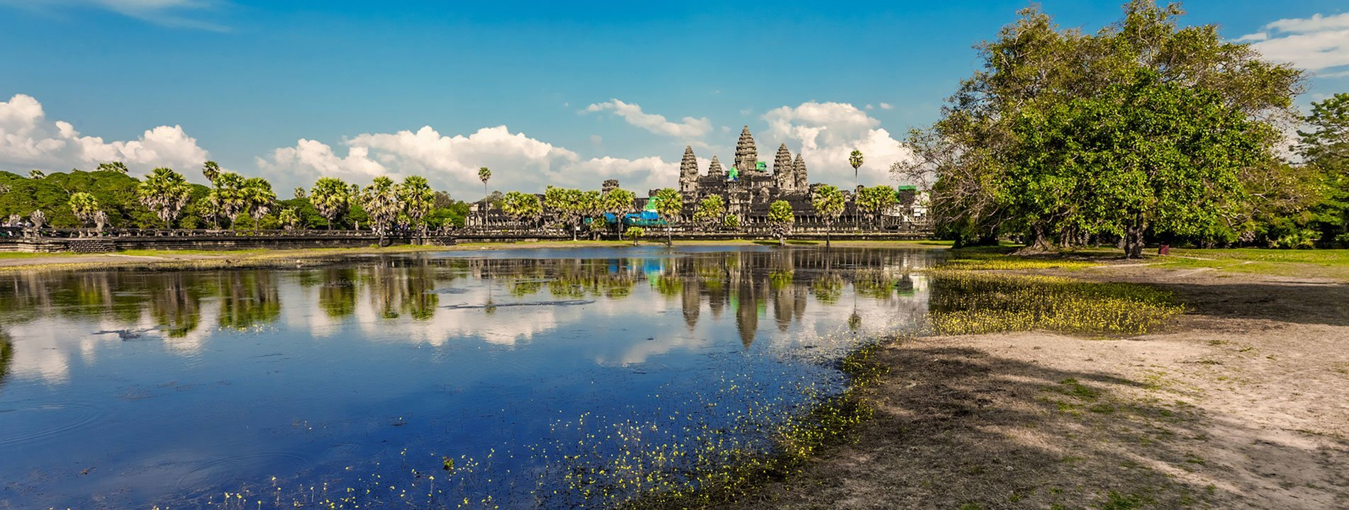 Angkor Wat from the Moat