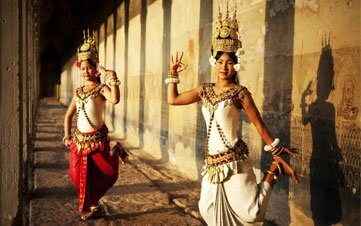 Dancing Girls in Angkor Wat