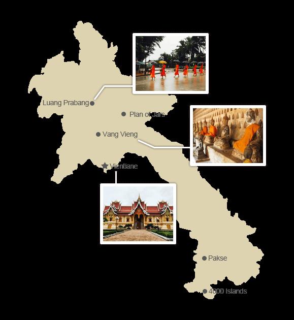 laos-regional-map