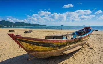 Boat in beach