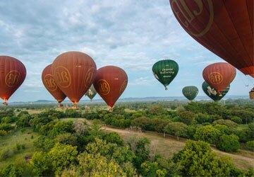 Bagan Air Balloon