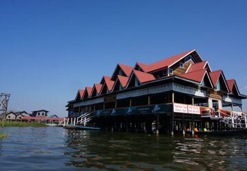 Inle Lake Restaurant on the Water