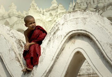 Little Monk in Mandalay