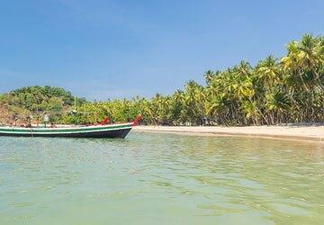Ngapali Beach near Yangon