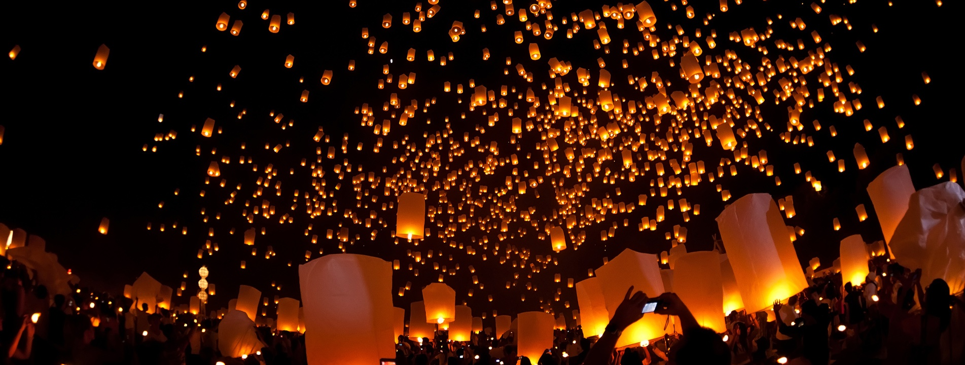 5-day Highlights of Yi Peng Festival in Chiang Mai